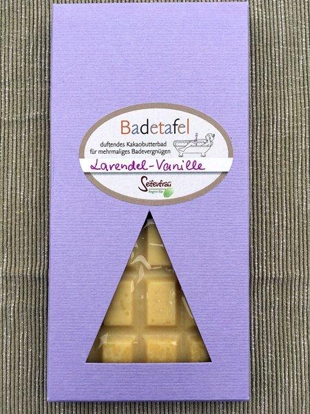 Badetafel Lavendel-Vanille