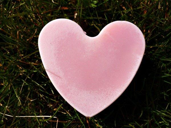 Rosenseife Herz